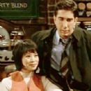 David Schwimmer and Lauren Tom