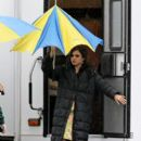 Eva Mendes on Set March 16, 2011
