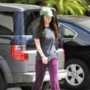 Megan Fox - Goes To A Tanning Salon In Studio City, 2010-09-22