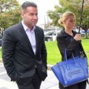 Mike 'The Situation' Sorrentino and Lauren Pesce - 454 x 397