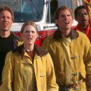 David Duchovny, Julianne Moore, Seann William Scott and Orlando Jones in Dreamworks' Evolution - 2001