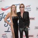Duff McKagan and Susan attend the Steven Tyler's Grammy Awards Viewing Party Benefiting Janie's Fund on February 10, 2019 in Los Angeles, CA