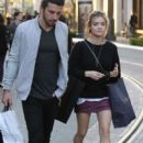 Lucy Hale  spotted out shopping at The Grove in Los Angeles, California on March 31, 2016 - 401 x 600