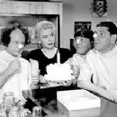Christine McIntyre & The Three Stooges