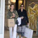 Amanda Peet and Sarah Paulson – Shopping at Zimmermann in West Hollywood - 454 x 543
