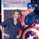 Alice Taglioni – 'Marvel Summer of Super Heroes' Opening Ceremony at Disneyland Paris - 454 x 303