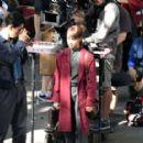 Alicia Vikander – Filming 'The Earthquake Bird' in Tokyo - 454 x 287
