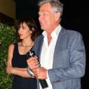 Katharine McPhee and David Foster – Arriving to the Simon Cowell 'Hollywood Star Celebration Party' in LA - 454 x 681