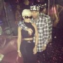 Blac Chyna and Tyga at Tyga's Concert Afterparty at Pink Rhino Cabaret in Phoenix, Arizona - January 17, 2014