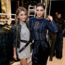 Actress Jessica Szohr attends the Balmain x H&M Los Angeles VIP Pre-Launch on November 4, 2015 in West Hollywood, California - 408 x 600