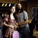 'Band aid' Polexia (Anna Paquin) pairs up with Stillwater lead singer Jeff Bebe (Jason Lee) in Dreamworks' Almost Famous - 2000