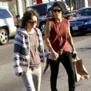 Sara Gilbert and Linda Perry - 454 x 455