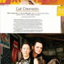 """Style Icons"" Jenny Shimizu and Clint Catalyst in Frontiers Magazine"