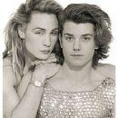 Marilyn with Gavin Rossdale - vintage 80's