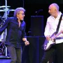 Roger Daltrey & Pete Townshend perform  on the first night of the band's residency at The Colosseum at Caesars Palace on July 29, 2017 in Las Vegas, Nevada - 454 x 313
