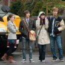 (L to R) ANNA KENDRICK, JUSTIN CHON, CHRISTIAN SERRATOS and MICHAEL WELCH star in THE TWILIGHT SAGA: ECLIPSE. Photo: Kimberley French. © 2010 Summit Entertainment, LLC. All rights reserved.