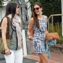 Nina Dobrev Goes Shopping And Gets Some Lunch In West Hollywood - 400 x 305