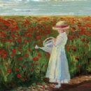"Art by Jane Seymour - ""Forever Poppies."" Photo: janeseymour.com"