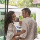 Shay Mitchell and Timothy Olyphant