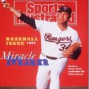 Nolan Ryan - Sports Illustrated Magazine Cover [United States] (15 April 1991)