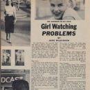 June Wilkinson - Girl Watcher Magazine Pictorial [United States] (June 1959) - 454 x 608