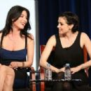 Jaime Murray and Mia Kirshner at the 2013 Winter TCA Tour - 454 x 303
