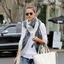 Alessandra Ambrosio Goes Shopping