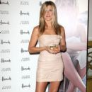 Jennifer Aniston Launches Debut Scent At Harrod's