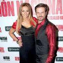 Cecilia Galeano and Mark Tacher