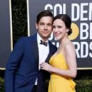 Jason Ralph and Rachel Brosnahan At The 76th Annual Golden Globes  (2019) - 427 x 600