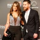 Antonella Roccuzzo and Lionel Messi – Presentation of Cirque du Soleil in Barcelona 01/31/2019