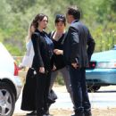 Jennifer Love Hewitt Filming Criminal Minds In Los Angeles