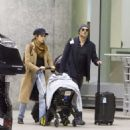 Nikki Reed and Ian Somerhalder – Arriving in Toronto
