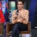 Alyssa Milano – Visits AOL BUILD Series in New York City
