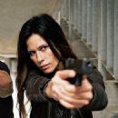 Rhona Mitra as Maj. Rachel Dalton in Strike Back