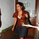 Salma Hayek - Madeo Restaurant In Los Angeles, 2010-08-30