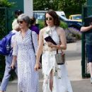 Claire Foy – Wimbledon Tennis Championships 2019 in London - 454 x 620