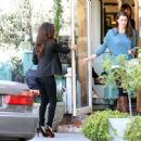 Eva Longoria: Leaves the Ken Paves Salon
