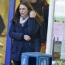 Keira Knightley – Filming 'Official Secrets' in Wetherby - 454 x 542