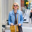 Naomi Watts Ride a Scooter – Out in New York - 454 x 521