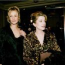 Karen Mulder and Catherine Deneuve