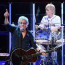 Roger Daltrey  performs on the first night of the band's residency at The Colosseum at Caesars Palace on July 29, 2017 in Las Vegas, Nevada - 454 x 566
