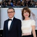 Christoph Waltz and Judith Holste - 454 x 340