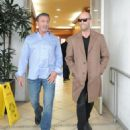 Sylvester Stallone and Jason Statham Grab Lunch in Beverly Hills - 454 x 555