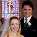 Melissa Hart and Dylan Neal