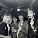 Ron Wood and Jo Wood w/ John & Andy Taylor - 454 x 454