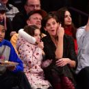Katie Holmes – Oklahoma City Thunder vs New York Knicks game in NY - 454 x 499