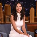 "Victoria Justice Visits ""The Tonight Show Starring Jimmy Fallon"" at Rockefeller Center on August 31, 2015 in New York City"