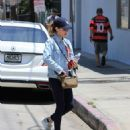 Lucy Hale – Spotted leaving a workout in Studio City