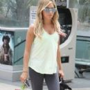 Ashley Tisdale: At Equinox Gym in West Hollywood